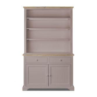 Florence Large Dresser with Shelving - Truffle