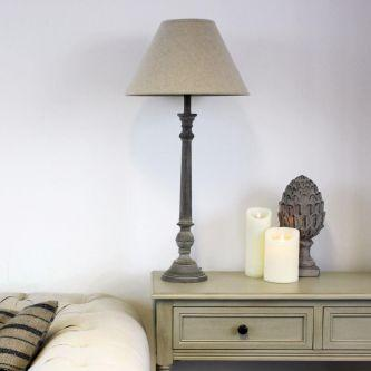 Jessie Lamp with Natural Linen Shade