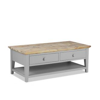 Florence dove grey coffee table