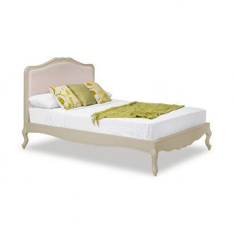Juliette Champagne Upholstered Double bed