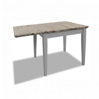 Florence Square Extended Table (75-110cm) - Dove Grey