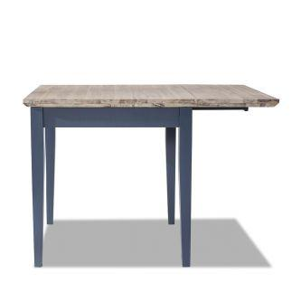Florence square Extended Table (75-110cm) - Navy Blue