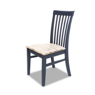 Florence High Back Chair - Navy Blue