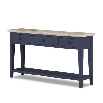 Florence Console Table - Navy Blue