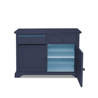 Florence Sideboard In 2 Tone - Navy Blue