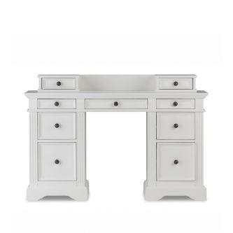 Gainsborough Desk with Extension Drawers - White