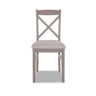 Truffle cross back upholstered kitchen and dining chair